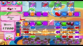 Candy Crush Saga Level 1606 (Hard Level) With No Boosters ★★★