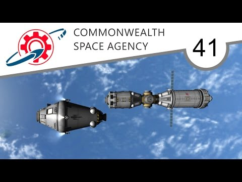 Kerbal Commonwealth Space Agency - 41. Starbus to the Cosmos (KSP 1.2.2)