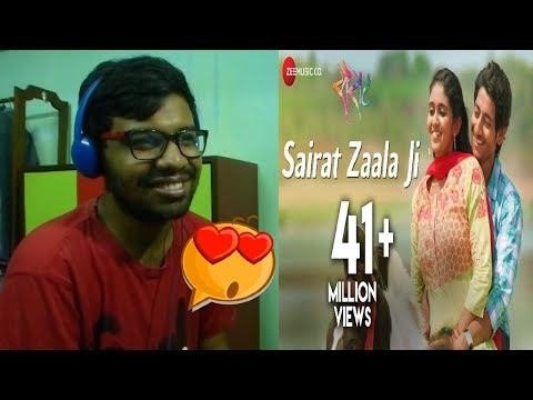 Sairat Zaala Ji - Official Full Video|Sairat|Ajay Atul|Reaction & Thoughts