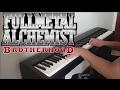Fullmetal Alchemist Brotherhood Opening 1 - again (piano W  Lyrics) video