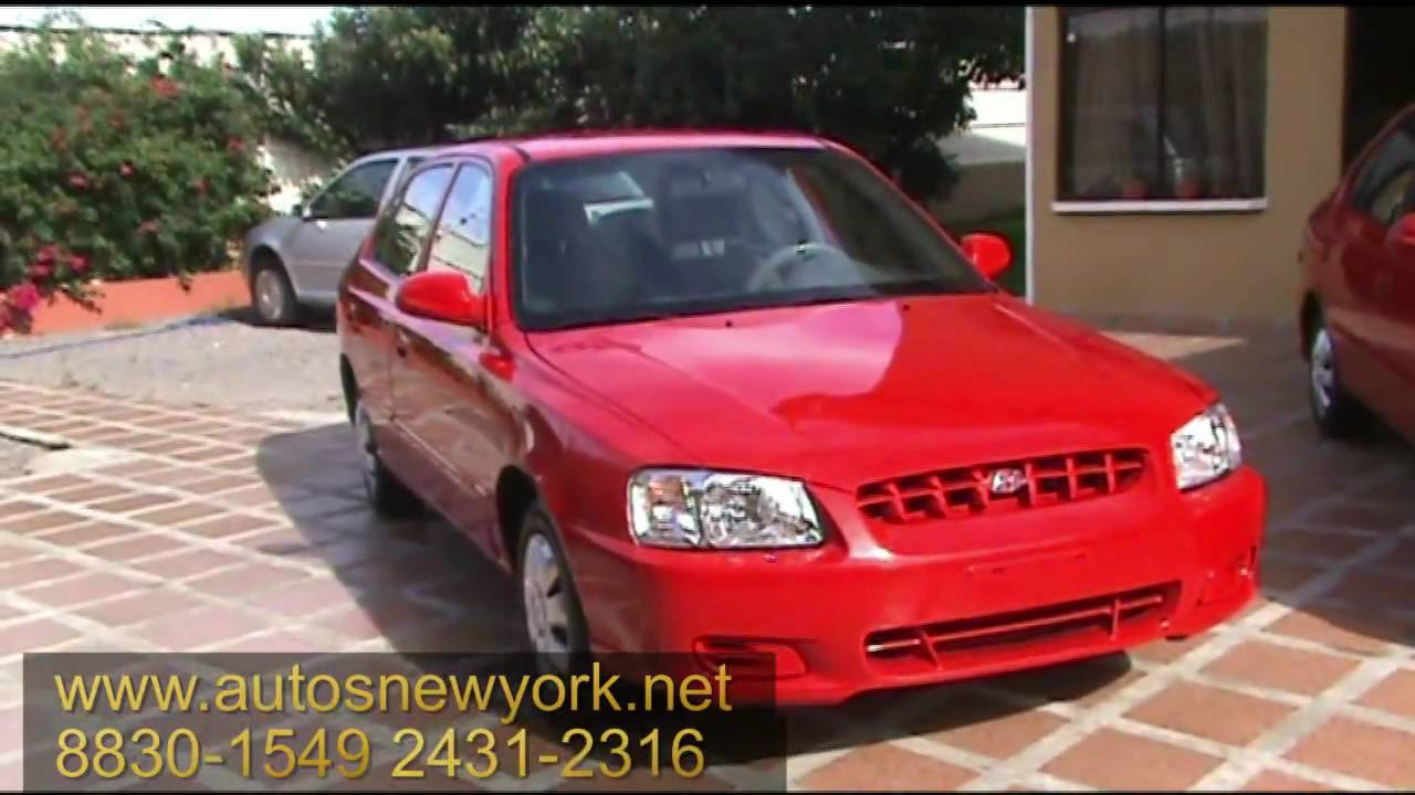Hd Hyundai Accent 2000 5ta Rojo Financio Hd Youtube