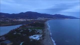 Plage la Marana et étang de Biguglia Haut Corse