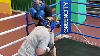 Обучение боксу. Тренировка по боксу.