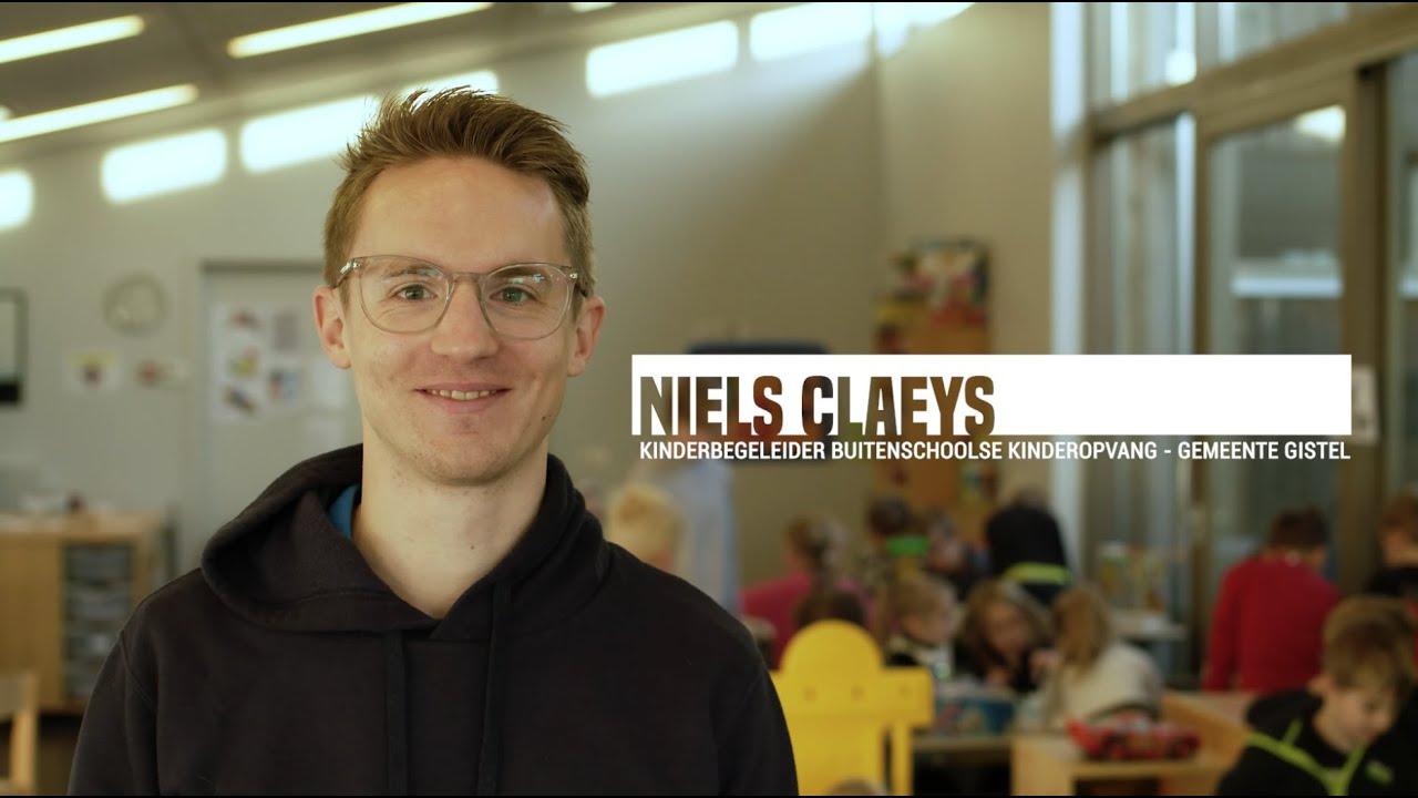 Niels Claeys - Kinderbegeleider Buitenschoolse Kinderopvang - Gemeente Gistel