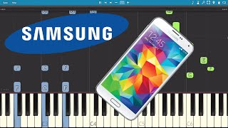 Samsung Galaxy Ringtone - Over The Horizon - Piano Tutorial
