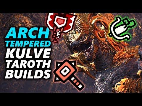 ARCH TEMPERED Kulve Taroth BUILD - Monster Hunter World