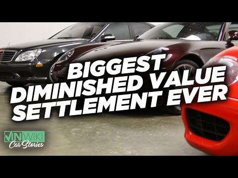Biggest Diminished Value Settlement in the State of Georgia