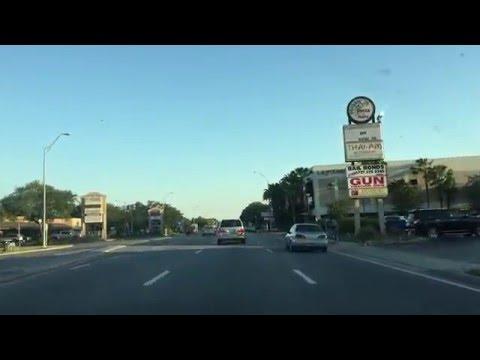 Катаемся по St Petersburg, Florida. Здесь мы живем.
