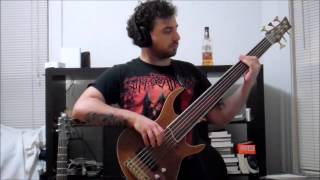 Death Overactive Imagination Fretless Bass Cover