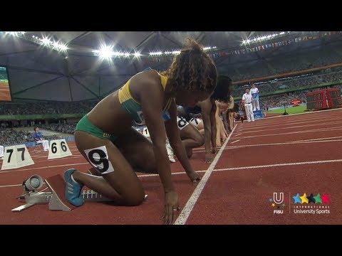 26th SU Shenzhen (CHN) - 100 m Women - SemiFinal