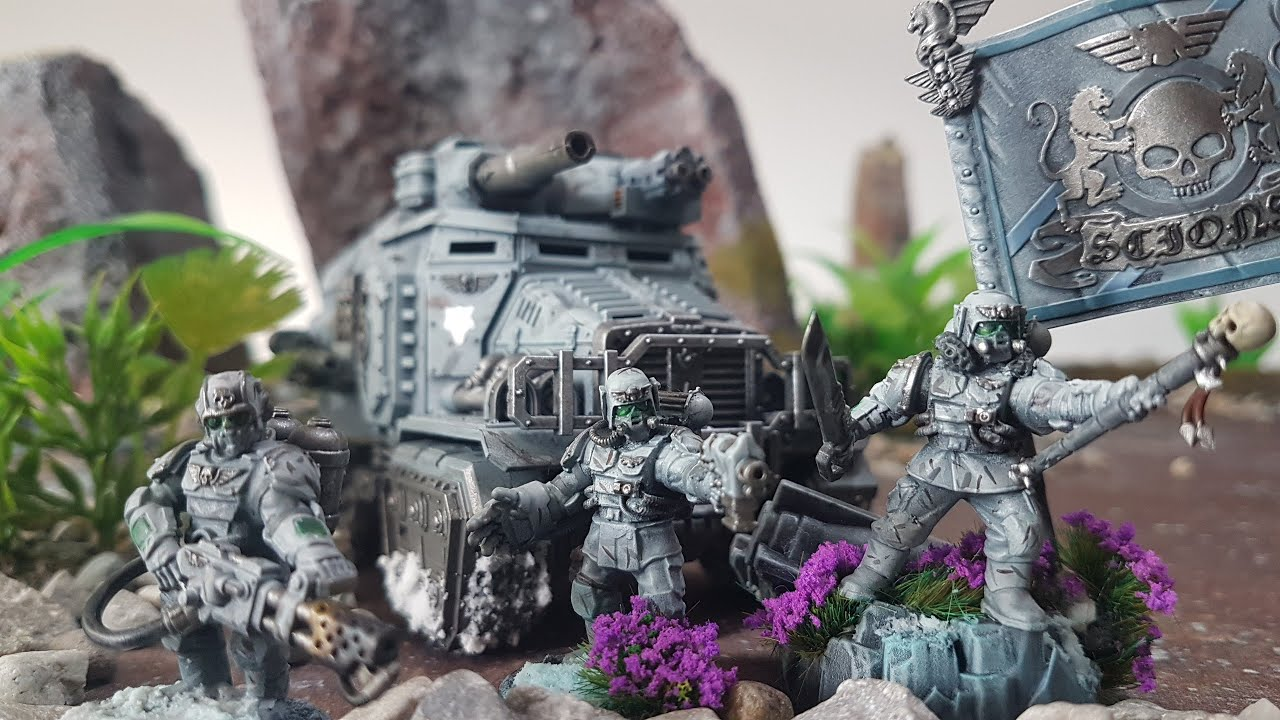 Orks v Astra Millitarum, 8th edition Warhammer 40k battle report