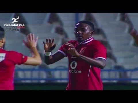 """الهدف الثاني لـ الأهلي امام المقاولون العرب """" جونيور أجاي """" الجولة الـ 23 الدوري المصري"""