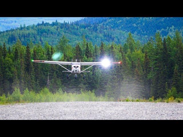 Tight Takeoff on a Mountain Runway   Alaska: Part 4