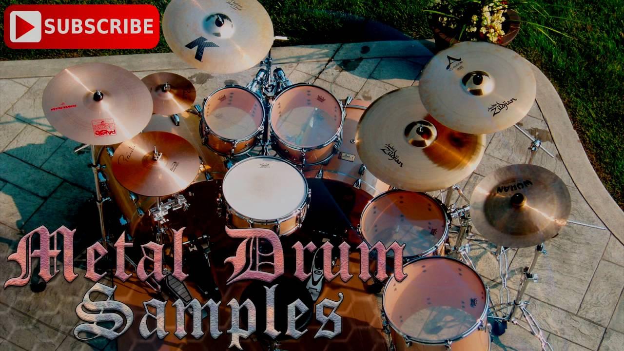 The metal kick drum | free drum samples for metal.