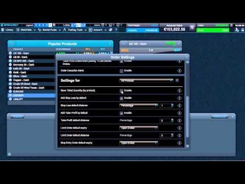 1-Click Trading - CMC Markets Next Generation spread betting platform (Ireland)