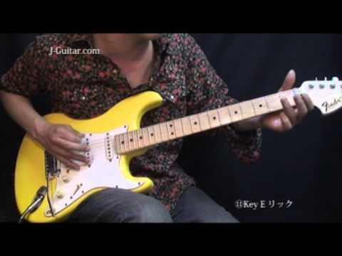 カントリー&ロカビリー-11.KeyE リック by J-Guitar.com
