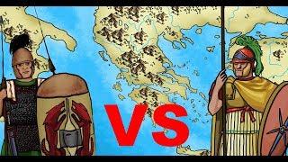 Roman legion vs Macedonian phalanx