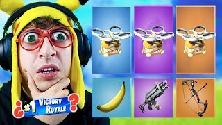 RANDOM 'DRONE' Skin CHALLENGE in Fortnite Battle Royale! (Reto dron aleatorio)