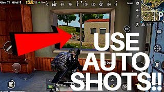 USE AUTO SHOTS | PUBG Mobile Gameplay #4 | iPhone 8+ | Solo