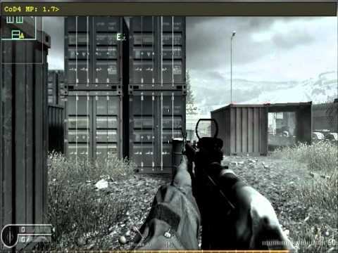COD4 PezBOT mod and Cheat Codes Tutorial