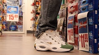 "Packer Shoes x Reebok Question ""For Players Use Only"" On Feet Review"