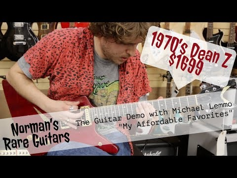 """Norman's Rare Guitars - """"My Affordable Favorites"""" - 1970's Dean Z $1699"""