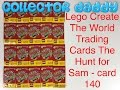 Lego Create the World trading cards The Hunt for Sam - card 140