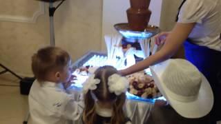 Шоколадный фонтан на свадьбу(, 2015-05-06T13:20:30.000Z)
