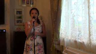 Sam Smith - Stay With Me sung by 12 year old Anjeli Diack