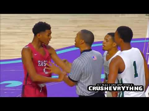 HIGH SCHOOL BASKETBALL FIGHTS, TAUNTS, AND FOUL PLAY COMPILATION 2017 online video cutter com