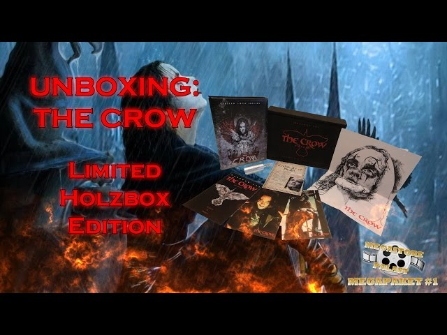 Unboxing - The Crow - Limited Holzbox Edition + Mediabook
