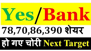 Yes Bank latest news | Update | Target | Yes Bank latest news today | Yes Bank Upper Circuit