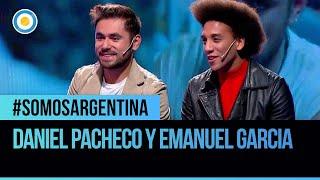 Daniel Pacheco y Emanuel Garcia en #SomosArgentina