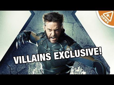 EXCLUSIVE: Wolverine 3 Villains Revealed! (Nerdist News w/ Jessica Chobot)