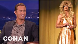 Alexander Skarsgard Made For A Beautiful Woman  - CONAN on TBS