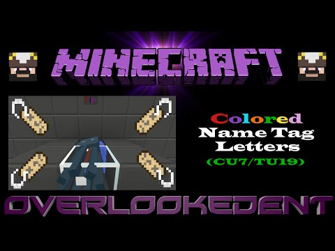 minecraft how to get colored text