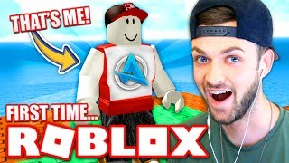 MY FIRST TIME *EVER* PLAYING ROBLOX!