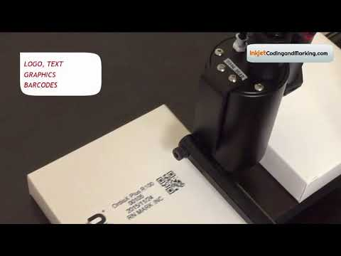 Industrial Inkjet Printer - RN Mark E1 18 HiRes - CIJ Printing