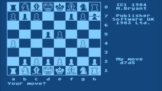 Colossus Chess 3.0 for the Atari 8-bit family
