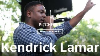 "Kendrick Lamar performs ""ADHD"" at Pitchfork Music Festival 2012."