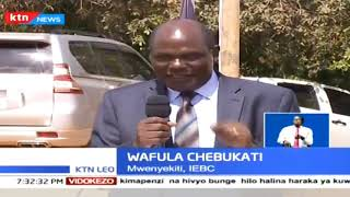 Wafula Chebukati ametoa changamoto kwa EACC kuwatia mbaroni  washukiwa wa usisadi
