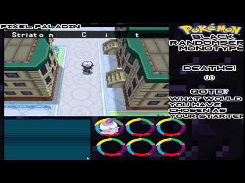 Pokemon Black Mono Type locke Part 1|FIRST GYM!