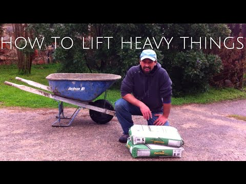 how to lift heavy things