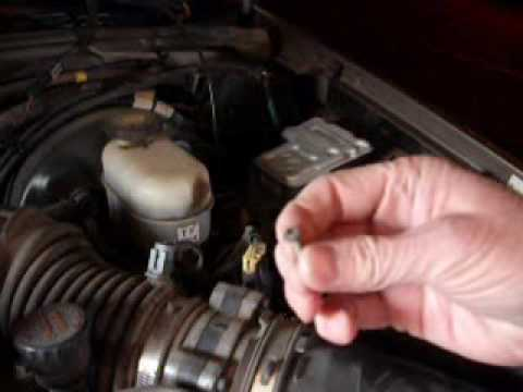 ABS Brake Control Module Replacement - YouTube