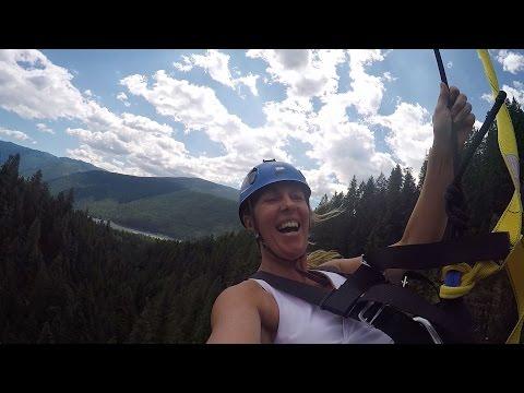 Kokanee Mountain Zipline - Nelson Kootenay Lake Tourism