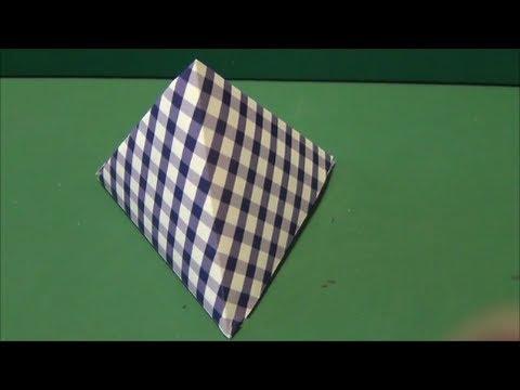 簡単 折り紙 折り紙 三角錐 : youtube.com