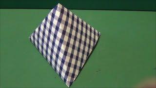 「三角ボックス」折り紙