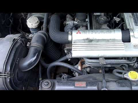 1996 MITSUBISHI SHOGUN/PAJERO 2.8 TURBO DIESEL ENGINE - 4M40T - YouTube