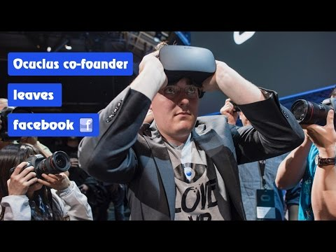 Oculus Rift founder, Palmer Luckey leaves Facebook | Definite Solutions