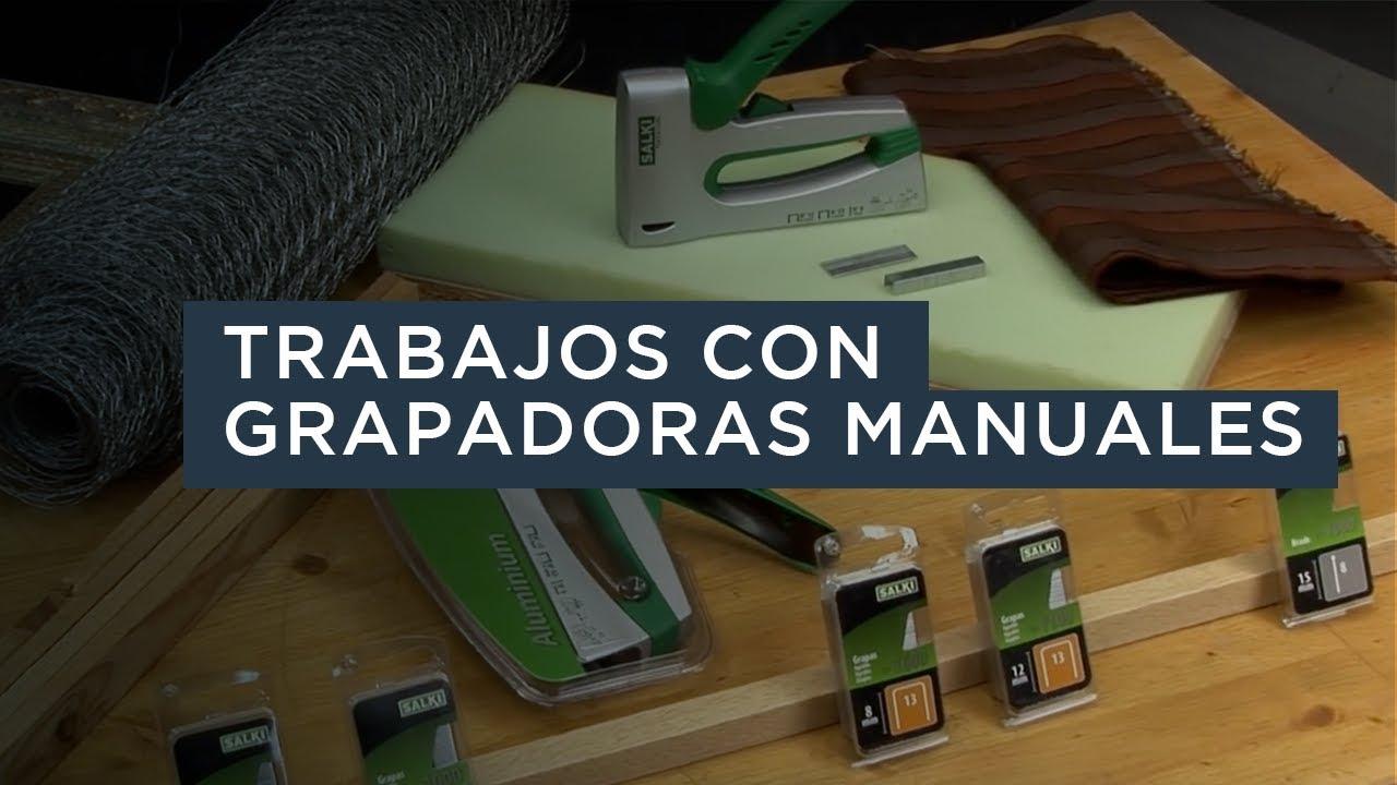 Trabajos con grapadoras manuales de salki youtube - Trabajos manualidades desde casa ...
